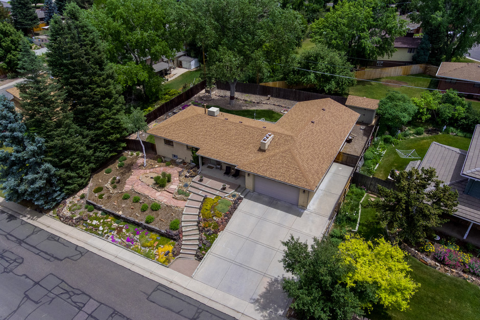 Property right view at 60 ft