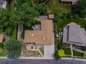 Aerial above Arvada home