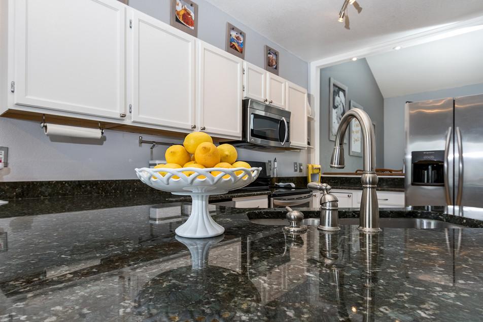 Lemons in kitchen
