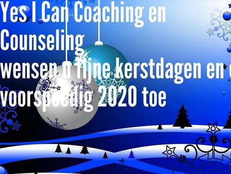 Yes i Can Coaching & Counseling wensen u fijne feestdagen toe !