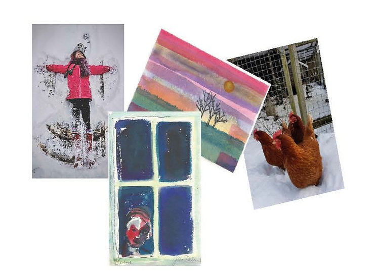 Assorted Christmas Cards - Pack 6
