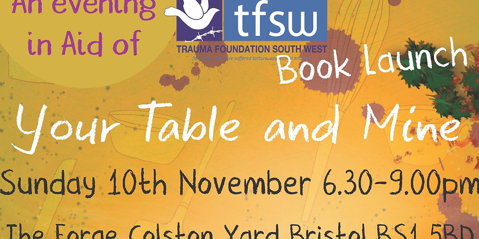"""Book Launch """"Your Table and Mine"""""""