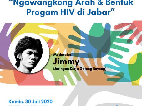 Ngawangkong Arah dan Bentuk Program HIV di JABAR