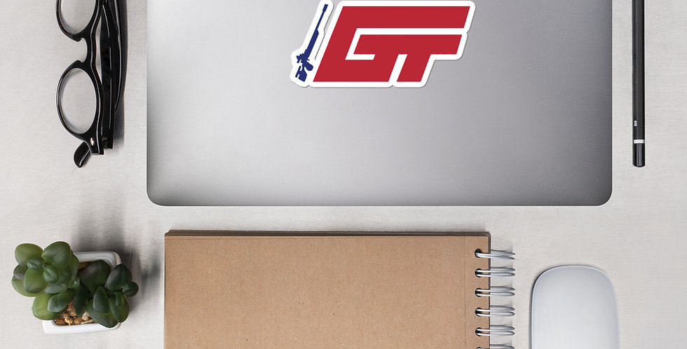 GT Logo Bubble-free stickers