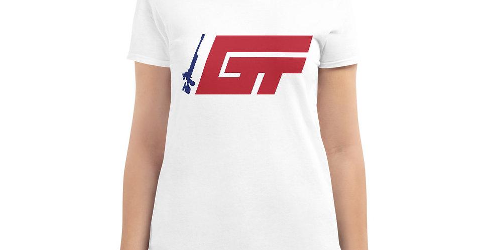 GT Logo Women's White T-Shirt