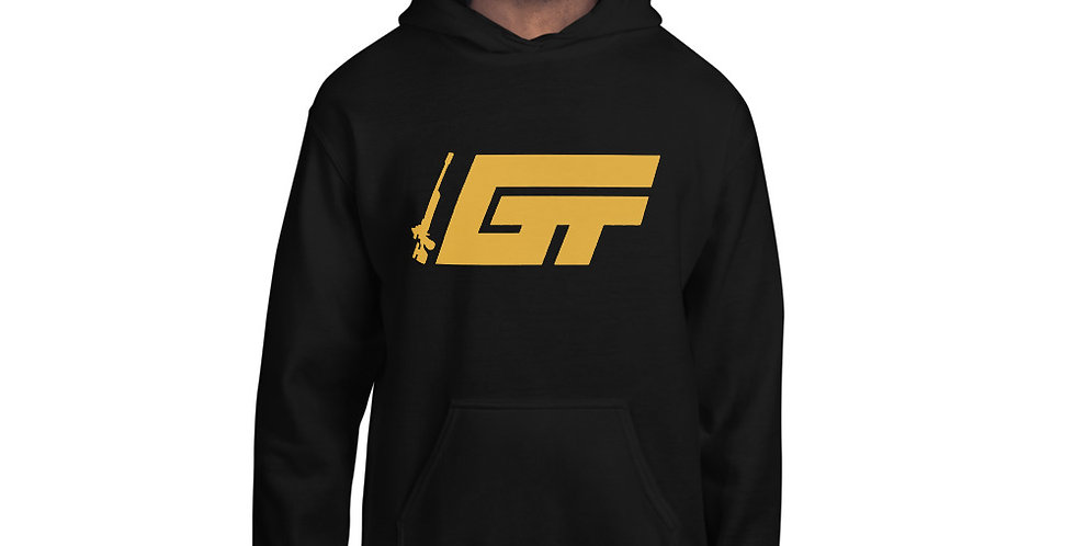GT Gold Logo Unisex Hoodie (Multiple Colors Available)