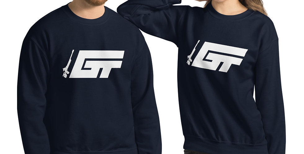 GT Logo Unisex Crew Neck Sweatshirt (Multiple Colors Available)