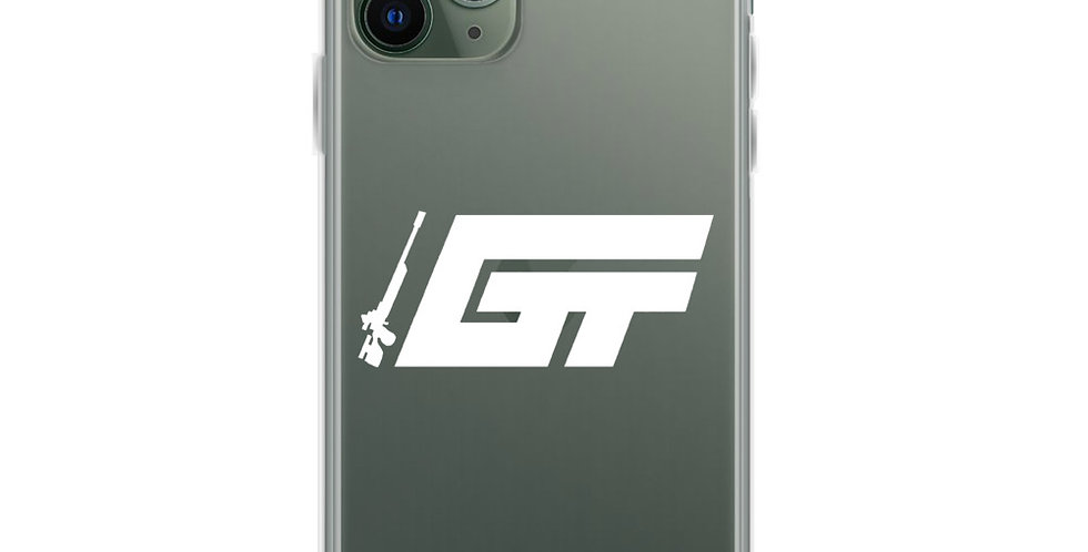 White GT Logo iPhone Case