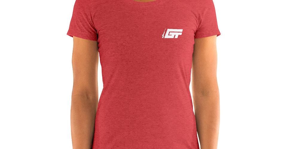 White GT Logo Women's T-Shirt (Multiple Colors Available)