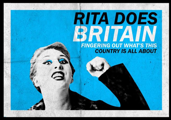 """Rita Does Britain"" Poster 2"