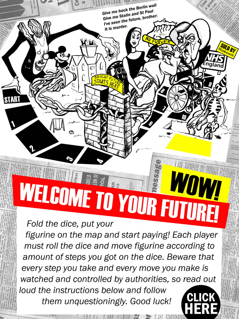 Welcom to Your Future - The Board Game
