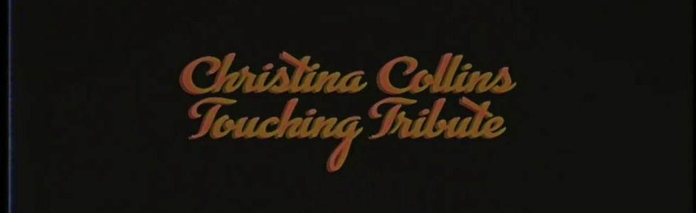 Christina Collins Touching Tribute VHS