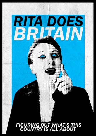 """Rita Does Britain"" poster 1"