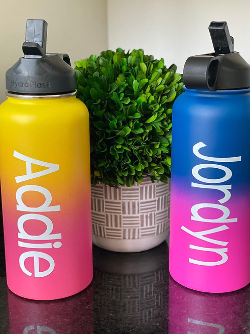 Ombre Hydro Flasks