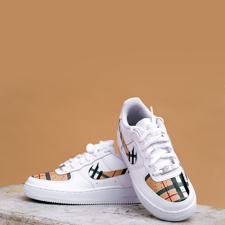 Burberry Air Force 1s