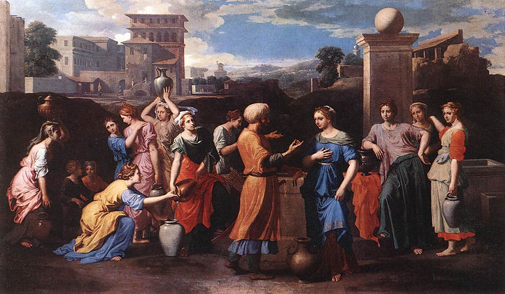 Nicolas_Poussin_-_Rebecca_at_the_Well_-_