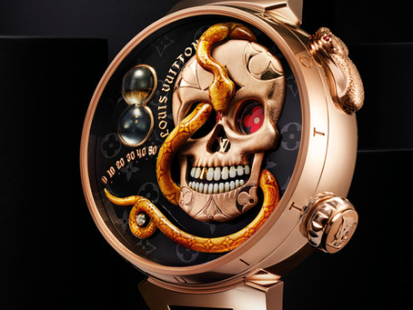Louis Vuitton's Tambour Carpe Diem: A tribute to the Jacquemart of old times