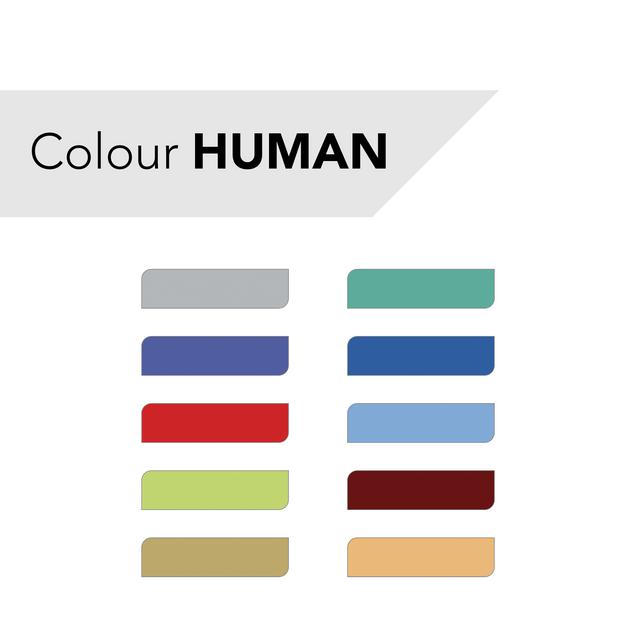 Farbkarte HUMAN
