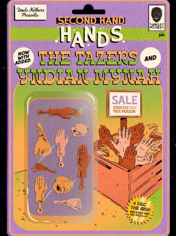 4 Dec Uncle Mothers - second hand hands.