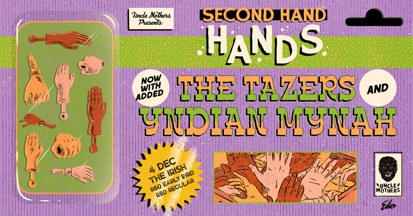4 Dec Uncle Mothers - second hand hands