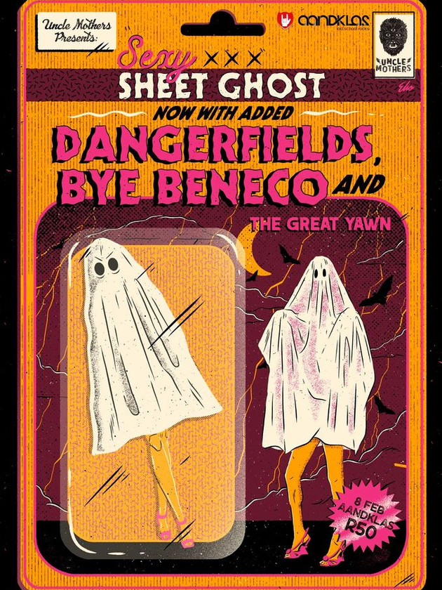 8 Feb Uncle Mothers - Sexy Sheet Ghost P