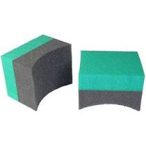Applicator-Black and Green- Double Width
