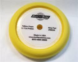 Pad - Foam Pad Yellow - Lt. Compounding/Polishing