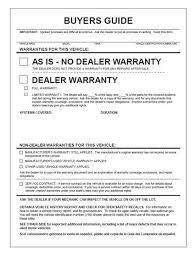 Buyers Guide - BG-2017-2PT - Implied Warranty