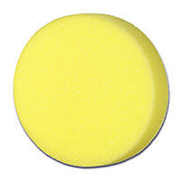 "Pad - Cyclo Yellow 4"" Cutting Foam Pad 2 Pk"