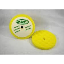 """Pad - 8"""" Yellow Waffle Foam (2pk)"""