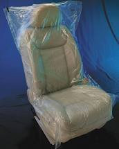 "Seat Covers - SNG 32"" x 56"" Clr .7 STCVR"