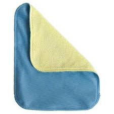 Towel - 2 Sided Blue/Yellow Glass Cloth