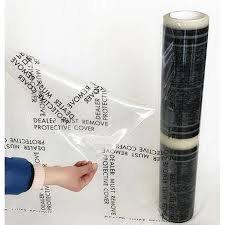 Floor Mats, Plastic Roll, 4.0 mil High Tack