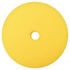 "Pad - Uro-Tec  7"" x 1.25""  yellow foam pad - random orbital"