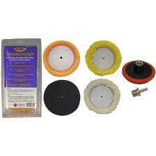 6 pc. Mini Pad Polishing Kit