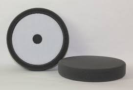 "6.5"" Final Finish Black Velcro Foam Pad (2 pk)"