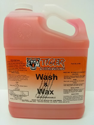 Wash & Wax Car Soap by Tiger Distributing