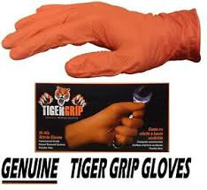 Gloves - Tiger Grip Orange, L