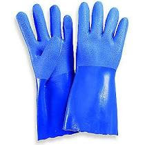 Gloves - Blue, Double Dipped, L