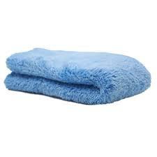 Towel - Coral fleece, edgeless, blue soft