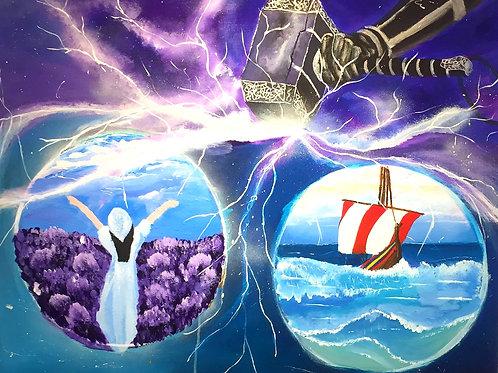 Thor og freja