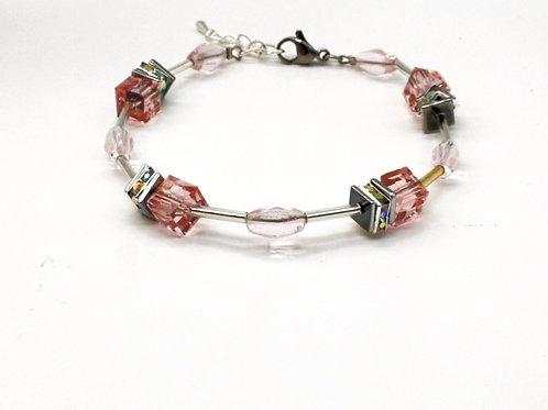 Armbånd med krystaller