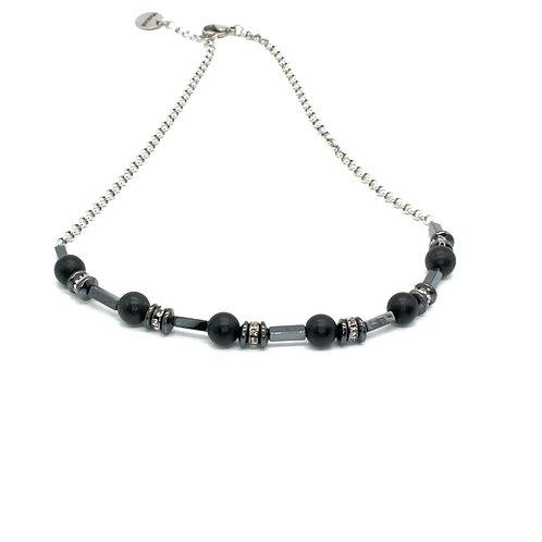 Onyx halskæde