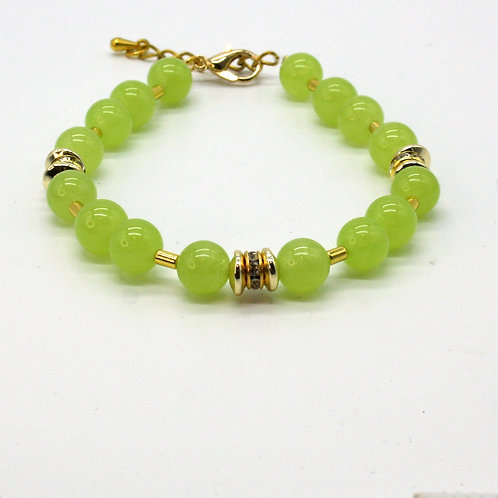 Armbånd med jade