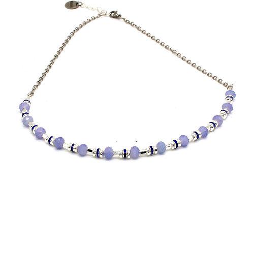 Krystal halskæde