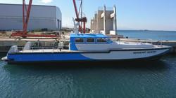 18,8 m Control Boat