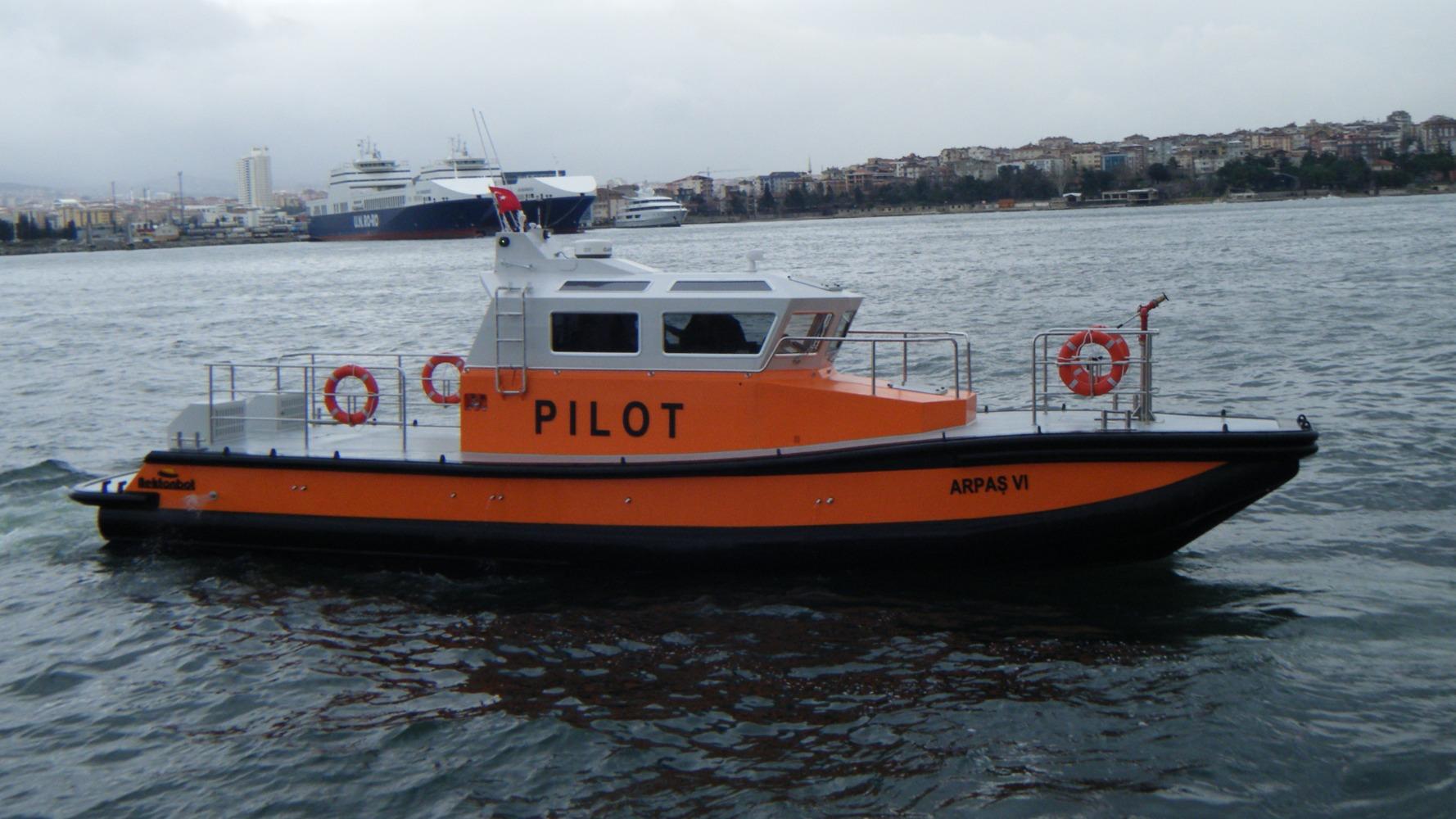 14,2 m Pilot Boat