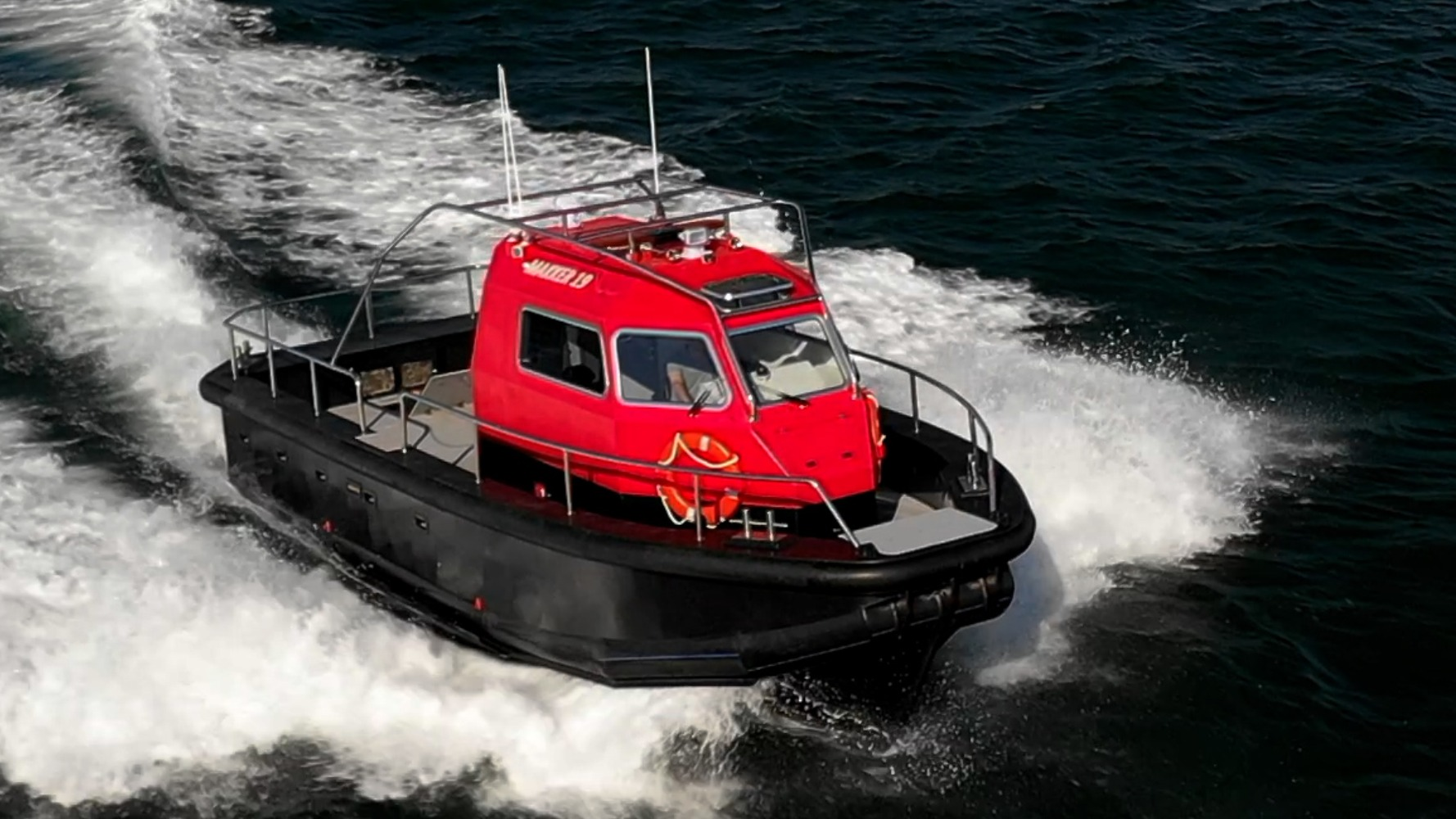 10 m Towing Boat