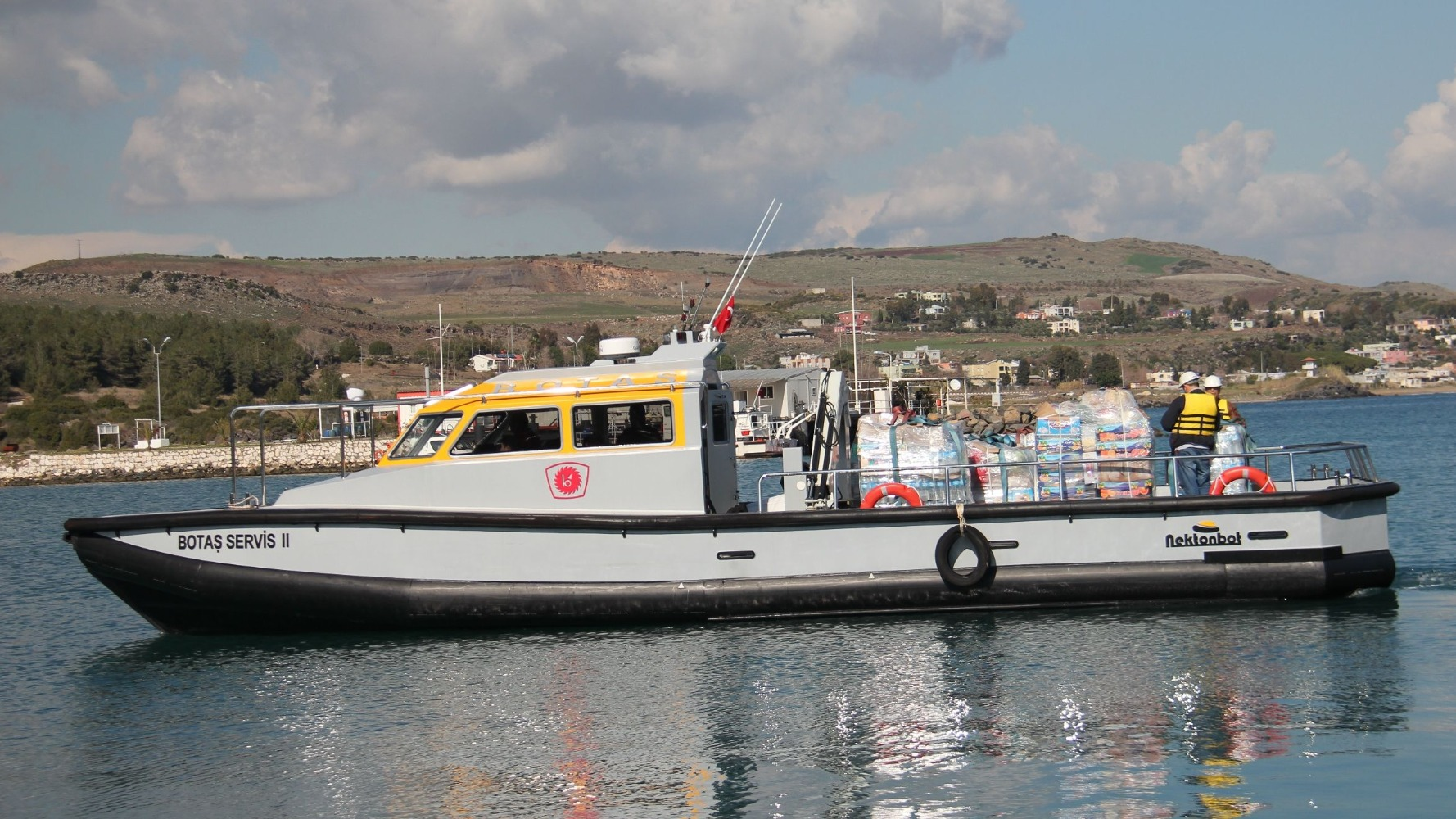 15 m Work Boat