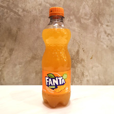 Fanta Orange Soft Drink  390ml